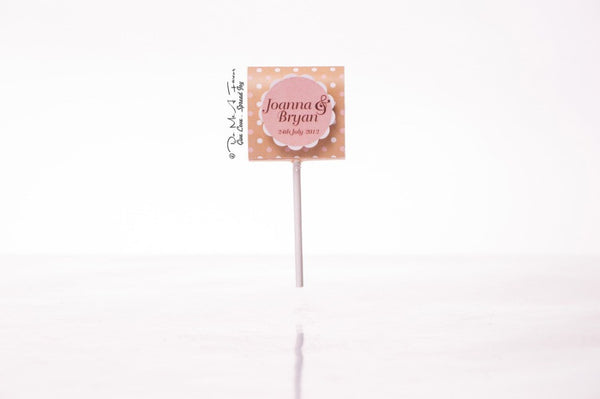 Sweet Vintage Organic Lollipops