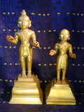 A Bronze Devotee Couple