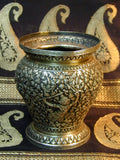 Cambodian Silver Offering Vase