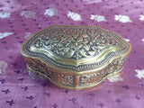 Sinhalese-Dutch Brass Tobbaco Box 19th century