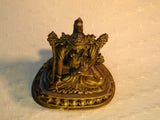 Antique Nepali Bronze statue of Buddhist deity Tara