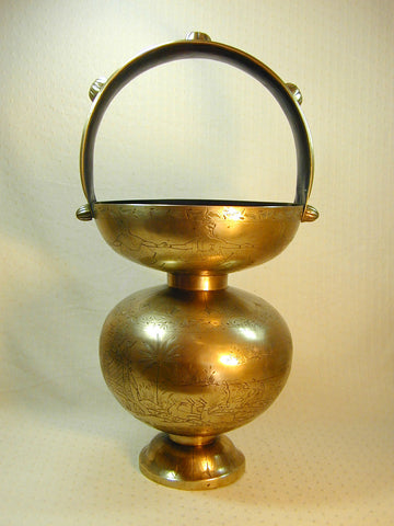Large Brass Mendicant's Lota