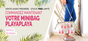 Minibag PlayaPlaya Red Pineapple