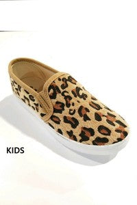 Slick leopard shoes - Annie James Boutique