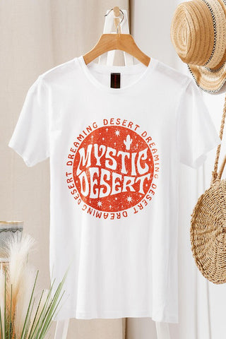 mystic desert graphic shirt