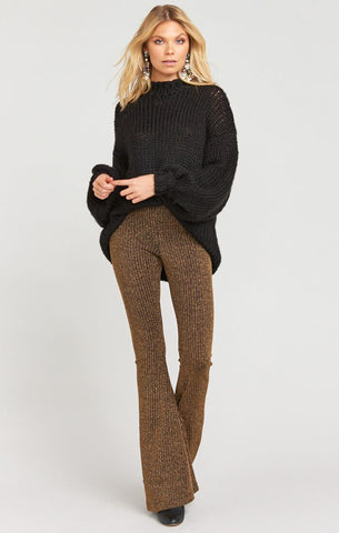 Jude Sweater - Black Knit - Annie James Boutique