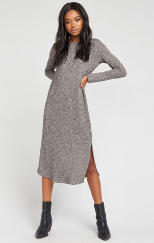 Maddison Dress- Mountaintop Sweater Knit - Annie James Boutique