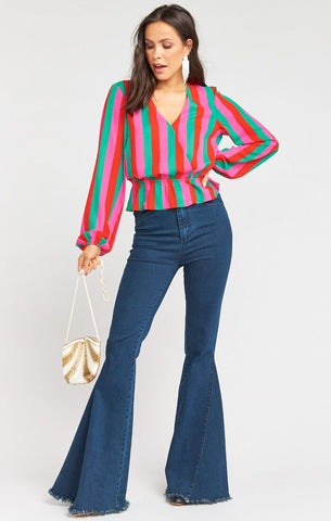 Richie Top - Feliz Stripe - Annie James Boutique