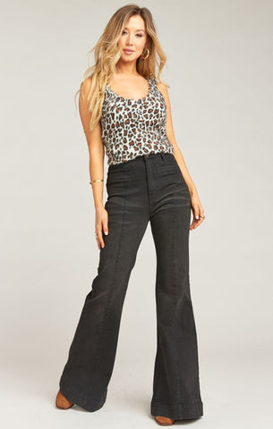 Ricki Tank - Fuzzy Cheetah - Annie James Boutique