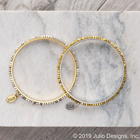 Julio Designs Evermore Bangle - Annie James Boutique