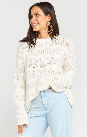 Jax Pullover - Cream de la Cream - Annie James Boutique