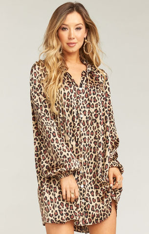 Mckenna Dress - Cheetah Fever - Annie James Boutique