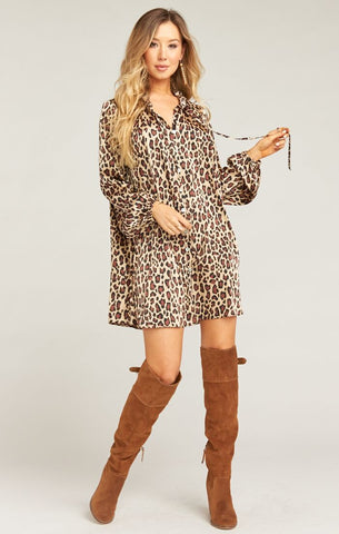 Mckenna Dress - Cheetah Fever