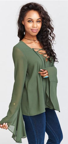 MuMu Zuko Top - Annie James Boutique