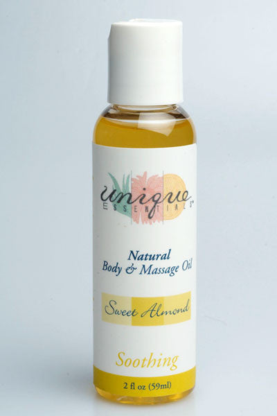Sweet Almond Body & Massage Oil (2oz.)