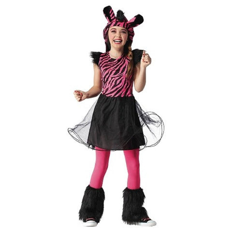 Girl's Panda Dress Costume