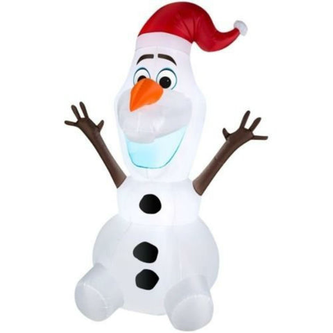 Disney Frozen Olaf Airblown Inflatable Outdoor Christmas Figure