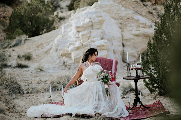 mystical mountain wedding inspiration