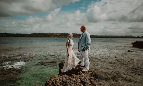 omar and catherine's island destination wedding