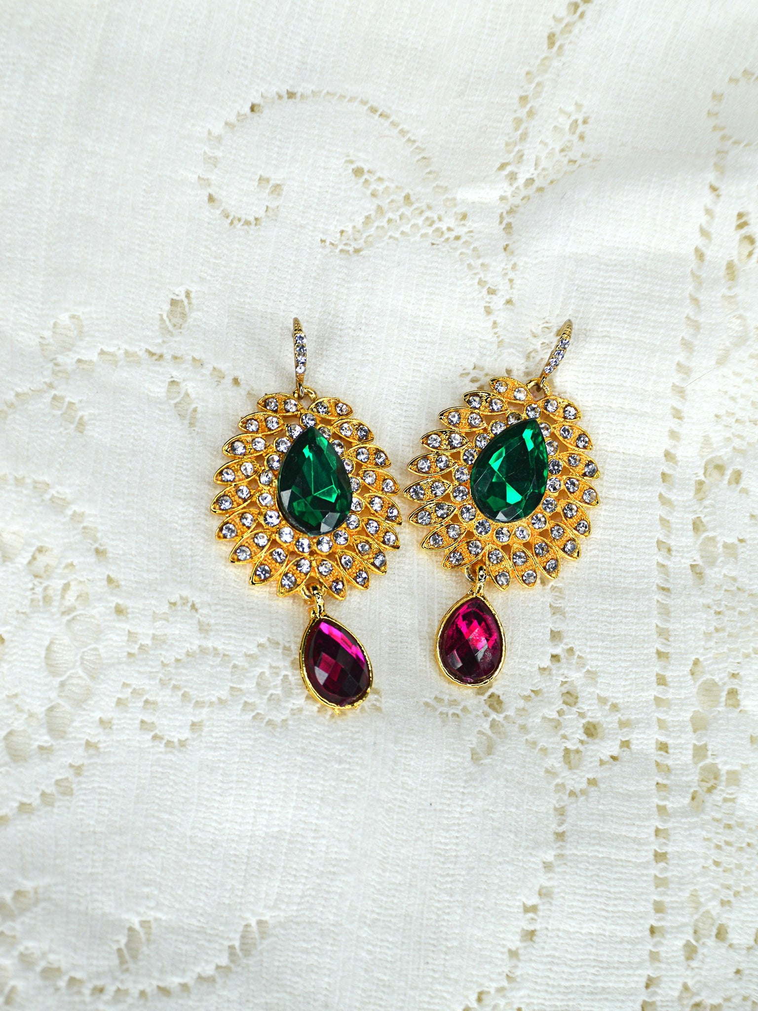 bohemian wedding earrings