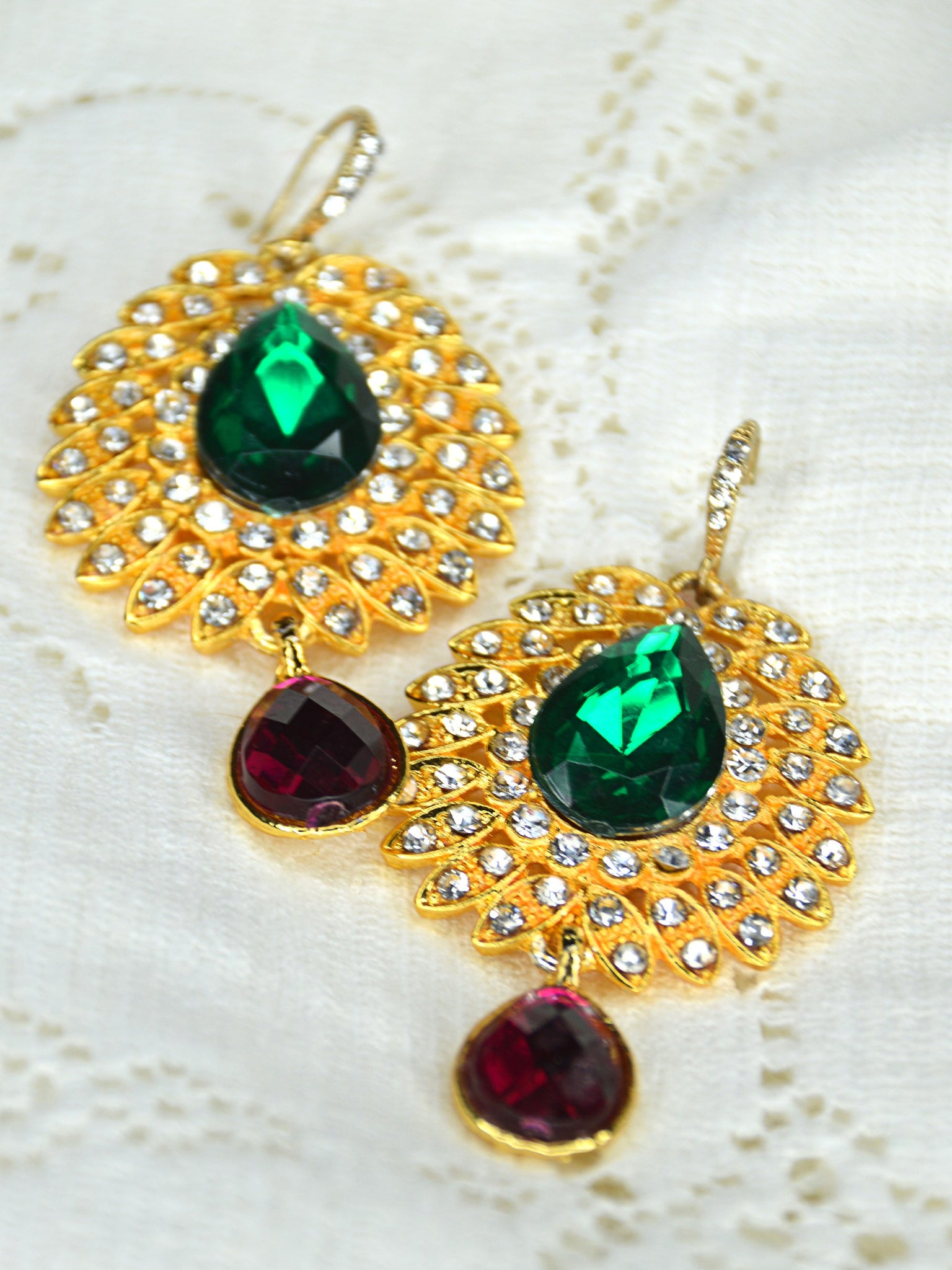 statement earrings indian wedding jewelry