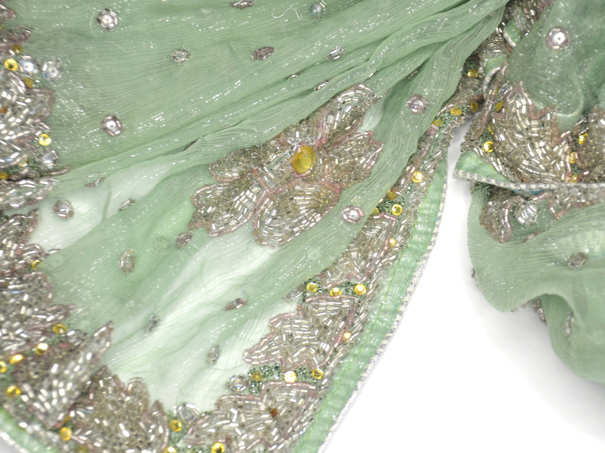 mother of the bride green shawl