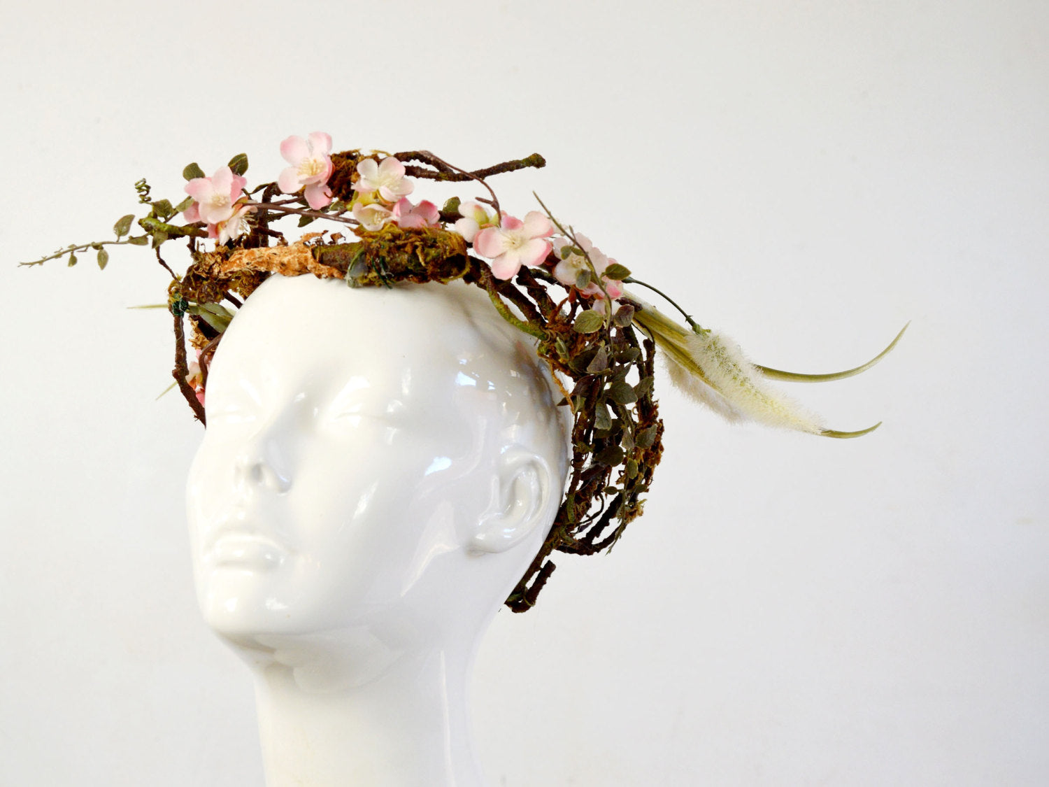 bridal head piece flower crown