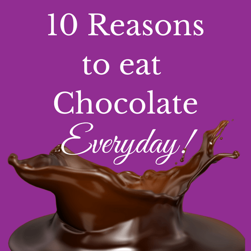 10 Reasons to Eat Chocolate Everyday