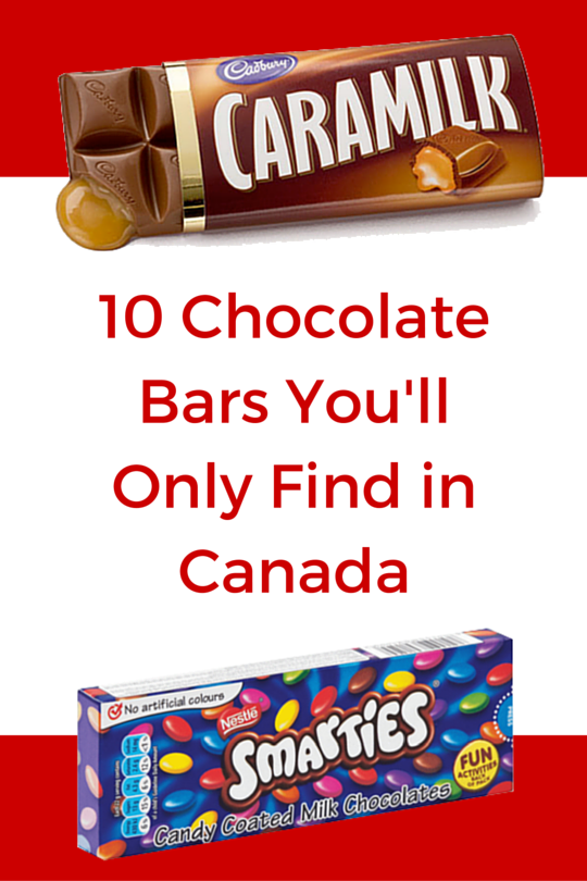 10 Chocolate Bars Youll Only Find In Canada Candy District