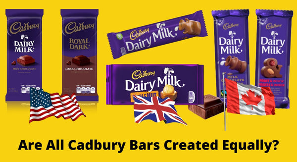 Are All Cadbury Bars Created Equally?