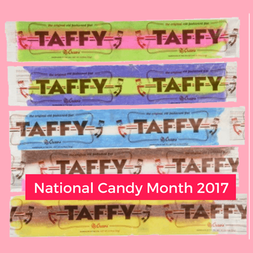 McCraws Old Fashioned Flat Taffy National Candy Month