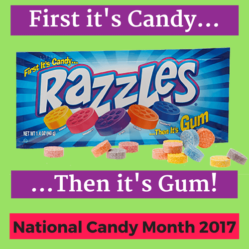 Razzles Retro Candy and Gum