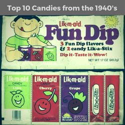 Top 10 Old Fashioned Candies from the 1940's