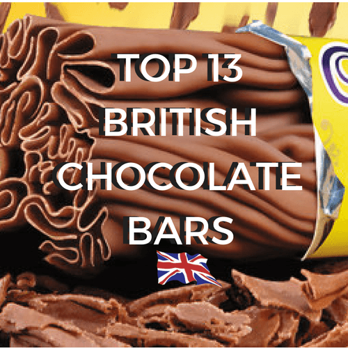 Top 13 British Chocolate Bars