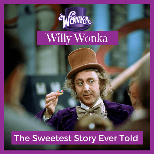 Willy Wonka The Sweetest Story Ever Told-Candy District