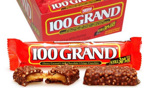 100 Grand Bars-Top 10 Retro Candies from the 1960's