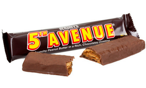 5th Avenue Bar Old Fashioned Candy-Top 10 Candies from the 1930's