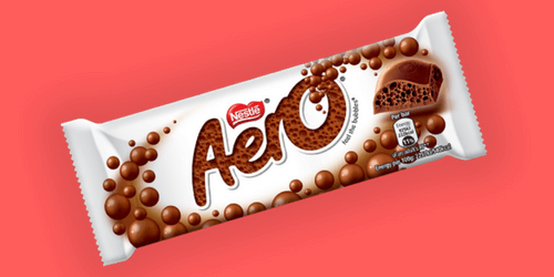 Aero Chocolate Bar-Canadian Candy-Sweet Talk Blog-Candy District