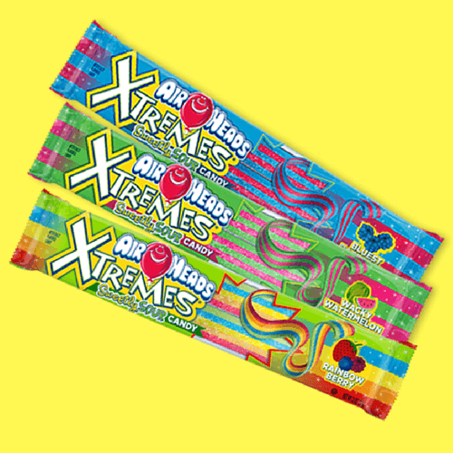 Airheads Candy Extremes-Sour Candies-Sweet Talk Blog