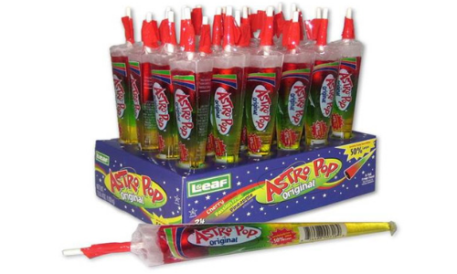 Astro Pop-Top 10 Retro Candies from the 1960's