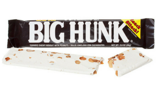 Big Hunk Old Fashioned Candy-Top 10 Candies from the 1930's