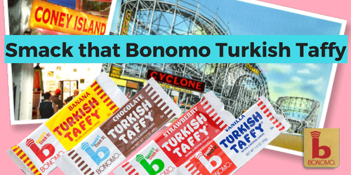 Bonomo Turkish Taffy Old Fashioned Candy