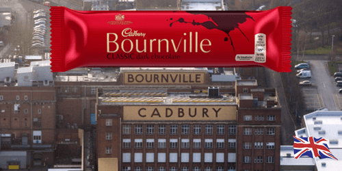 Cadbury Bournville British Chocolate Bar-British Candy