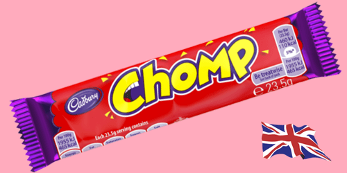 Cadbury Chomp British Chocolate Bar