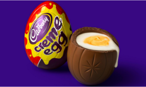 Cadbury Creme Egg-Top 10 Retro Candies from the 1960's