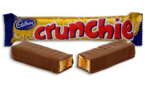 Cadbury Crunchie Bar-Top 10 Candies of the 1920's