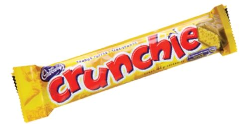 Cadbury Crunchie Canadian Candy Bar