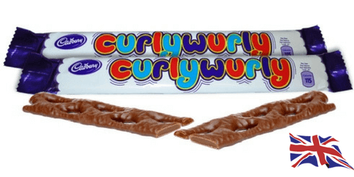 Cadbury Curly Wurly British Chocolate Bar