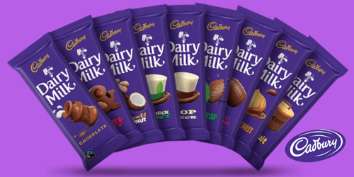 Cadbury Dairy Milk Canadian Chocolate Bars