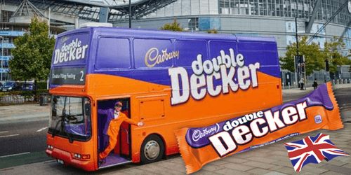 Cadbury Double Decker British Chocolate Bar-British Candy